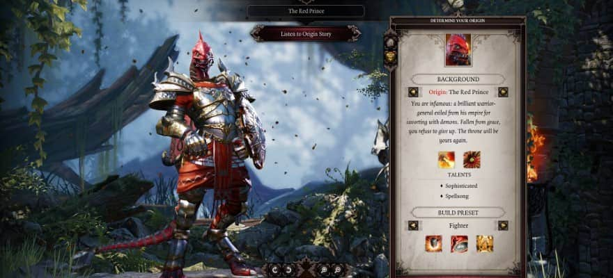 Protagonist in Divinity 2