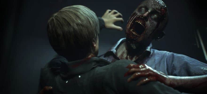 zombie in RE2 2019 Remake