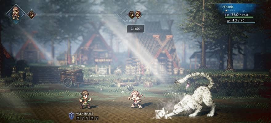 Octopath Traveler video game