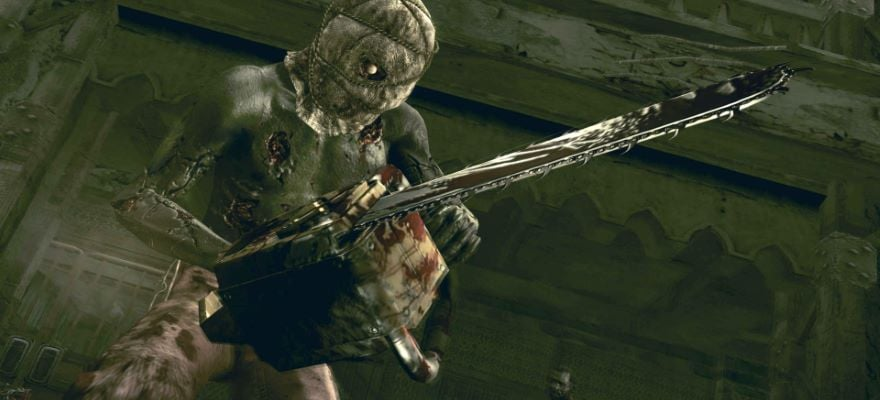 zombie with chainsaw