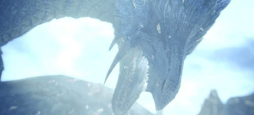 Ice Dragon in MHW Iceborne