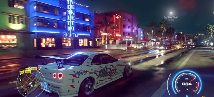 Graphics in Need For Speed Heat (2019)