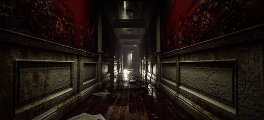 corridor in game