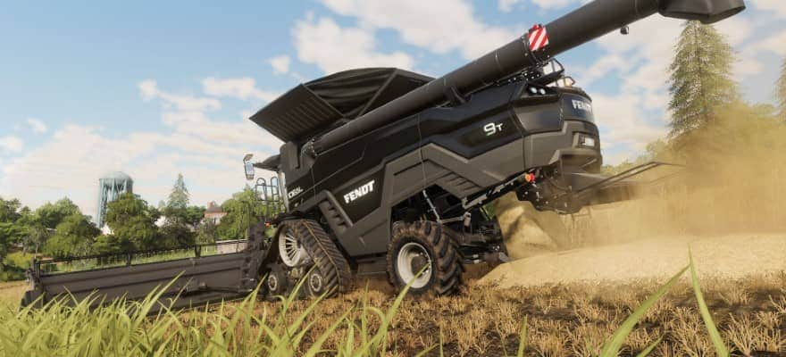 Fendt vehicle in Farming Simulator 2019