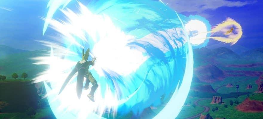 Fighting in Dragon Ball Z Kakarot