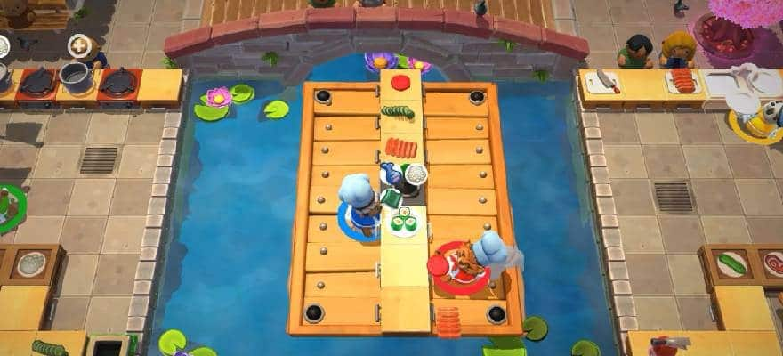 Cooking in Overcooked2