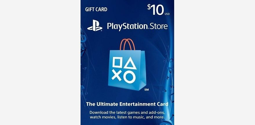 PlayStation Network Gift Card 10 USD US