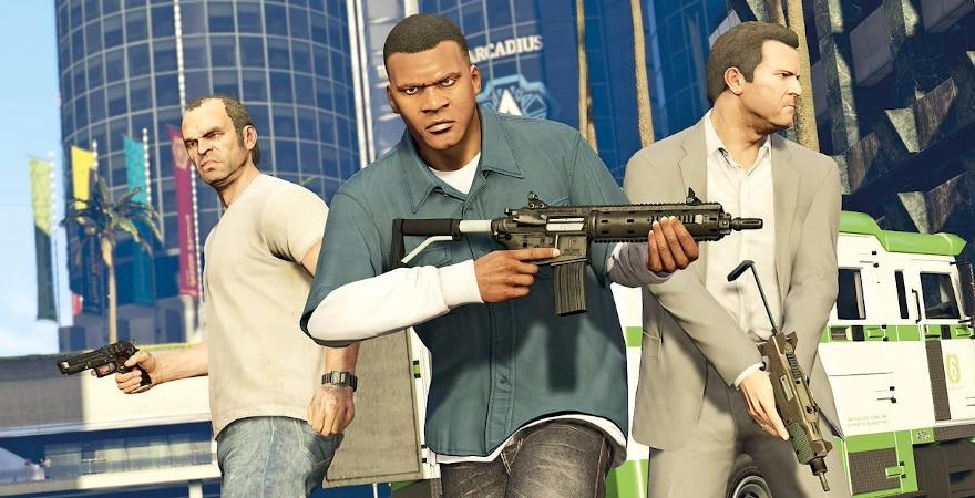 Grand Theft Auto V: Premium Online Edition - main actors