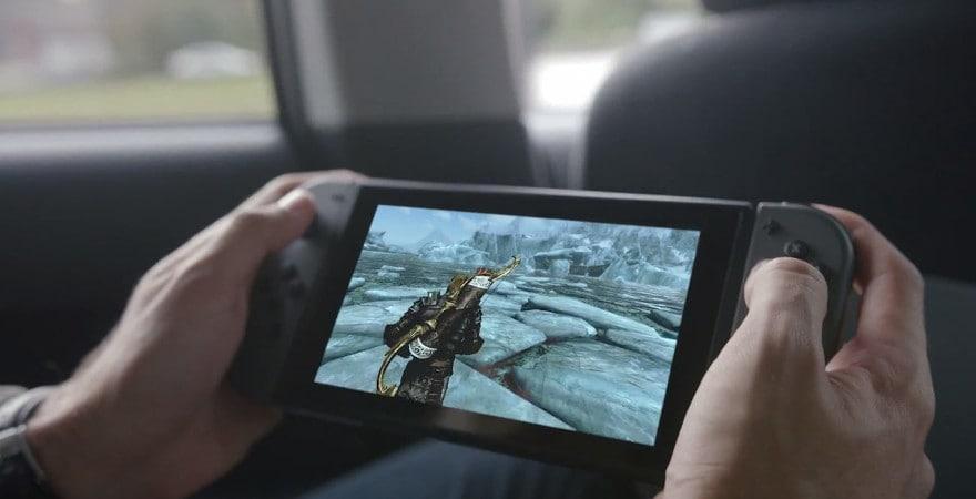 Nintendo Switch Neon-Red/Neon-Blue (new version 2019)