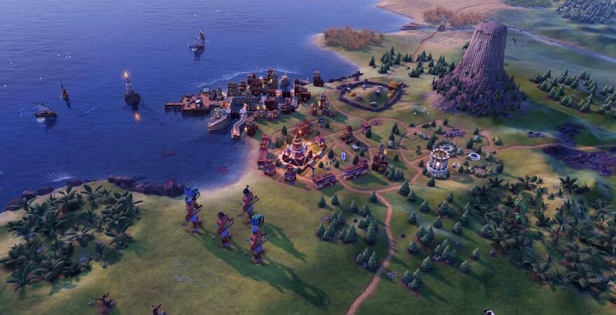 Civilization VI Volcano