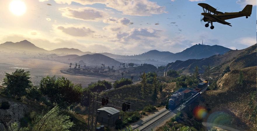 Grand Theft Auto V: Premium Online Edition - landscape