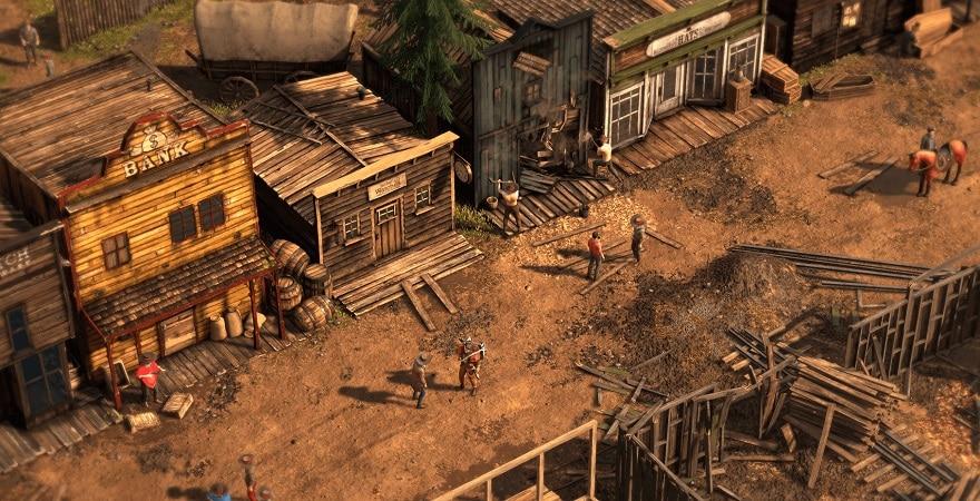 Desperados III - the village