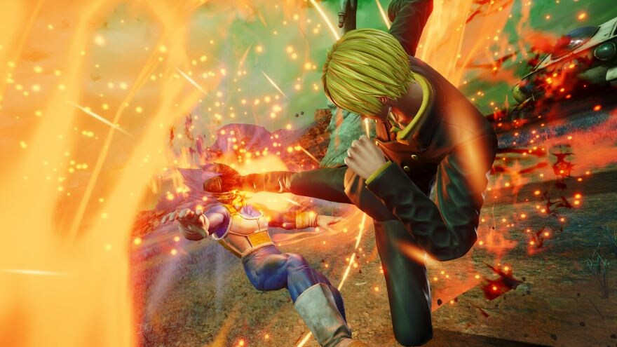 Combat in Jump Force