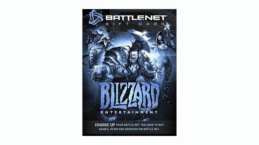 Blizzard GiftCard Battle.net