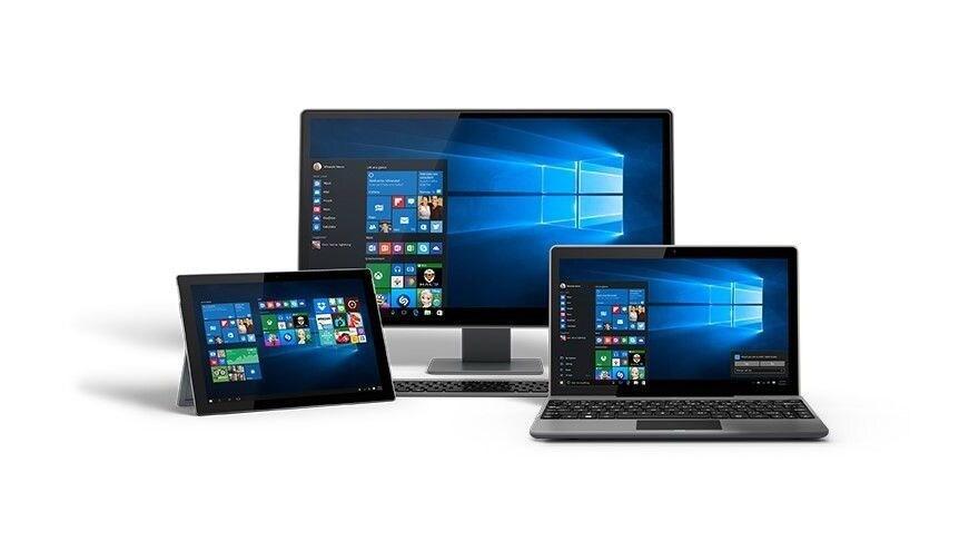 Microsoft Windows 10 Home - platforms