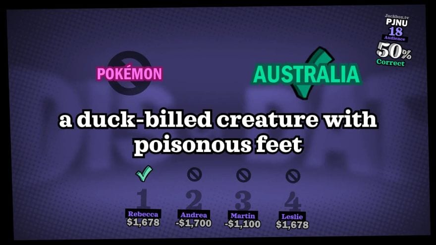 The Jackbox Party Pack 5 - answers