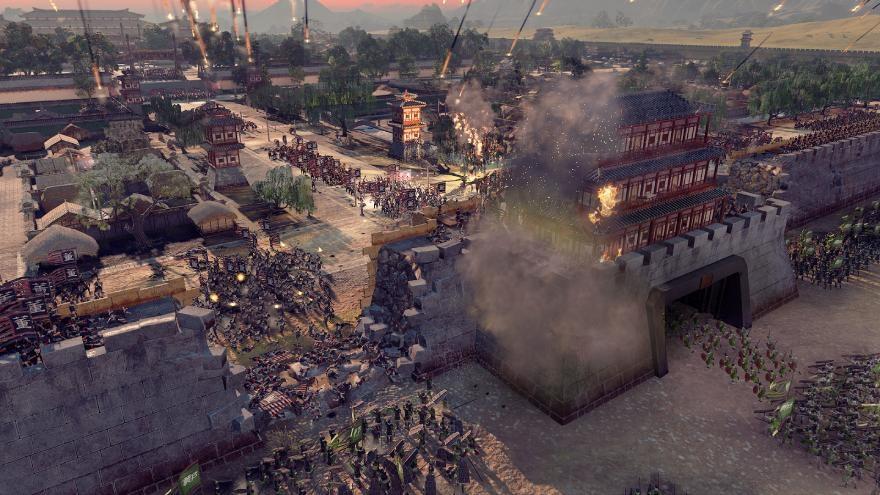 Combat in TW Three Kingdoms