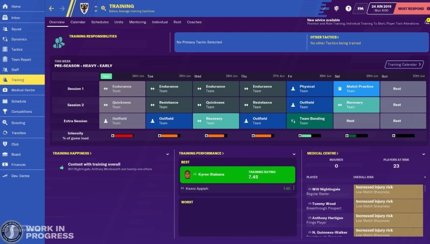 Football Manager 2020 tactics