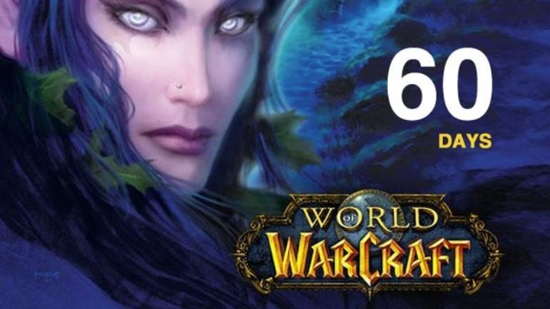 World of Warcraft Time Card Prepaid Battle.net