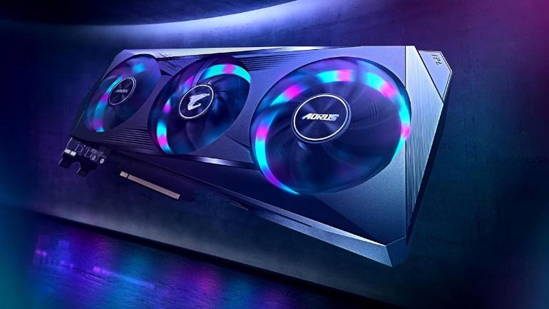 GIGABYTE GeForce RTX 3060 Ti 8 GB AORUS ELITE V2 LHR Graphics Card