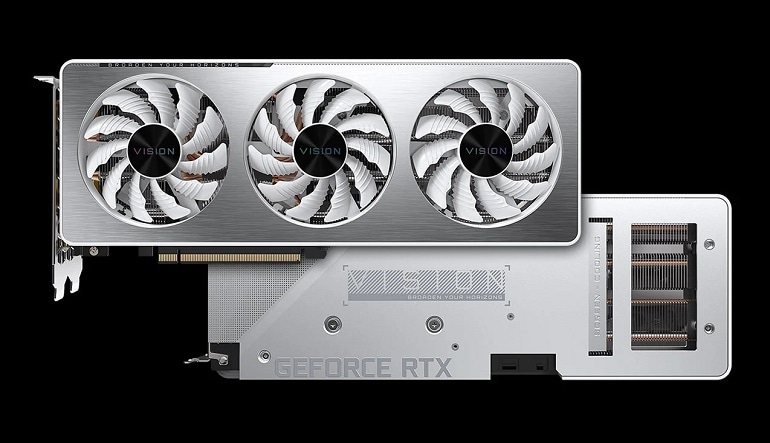 Gigabyte NVIDIA RTX 3060Ti 8GB VISION OC V2 LHR 8GB