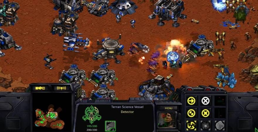 Starcraft Remastered gameplay