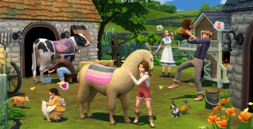 The Sims 4 Cottage Living Expansion Pack