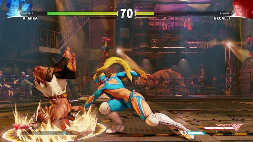 Street Fighter V - fighting