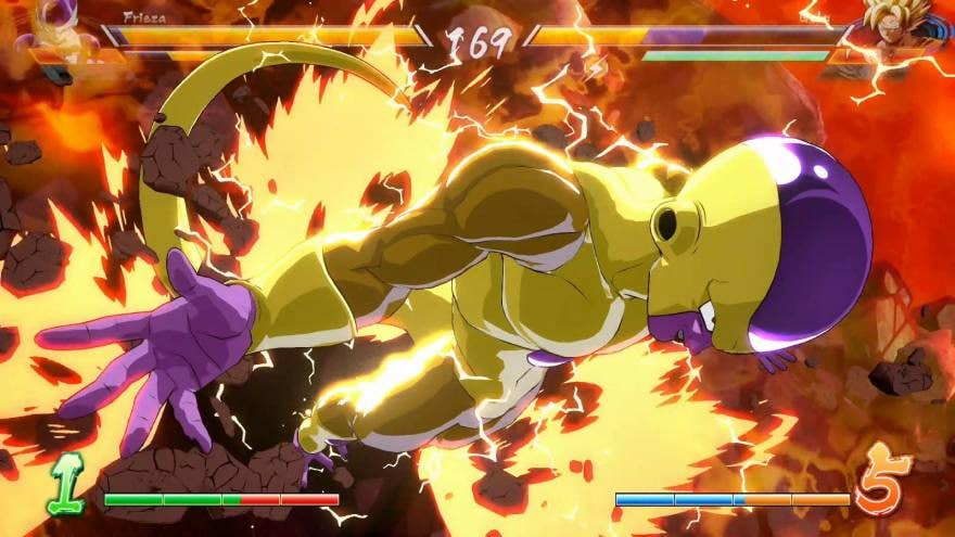 DRAGON BALL FighterZ Ultimate Edition - fire